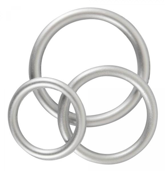You2Toys Penisring-Set Metallic (3-teilig) aus Silikon