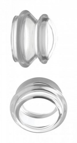 Master Series Nippelsauger Clear Plungers